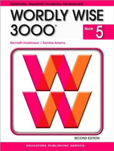 Wordly Wise 3000: Book 5: Kenneth Hodkinson, Sandra Adams ...