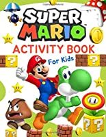 Super Mario Activity Book For Kids: Coloring