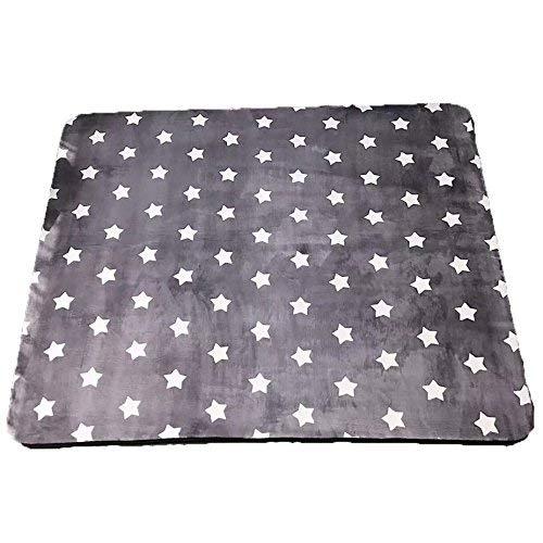 Creative Light Schwarz-weiß gestreiften Plaid Einfach zu reinigen, Rutschfeste Kurze Fleece-Teppich Nachttisch Wohnzimmer Couchtisch Matte (Farbe    5, größe   80cm185cm) B07DZSKV3C Teppiche & Lufer