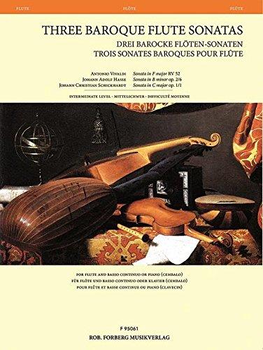 Three Baroque Flute Sonatas ()