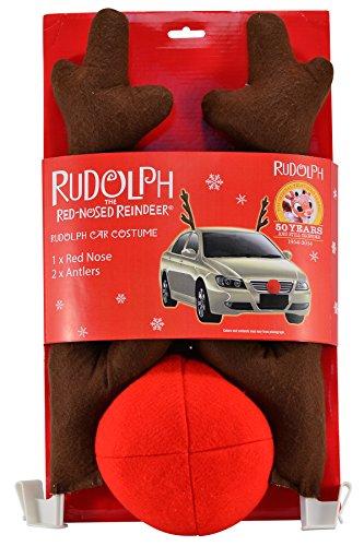 Mark Feldstein RCC2027 Rudolph Car Costume (Holiday Car Costume)