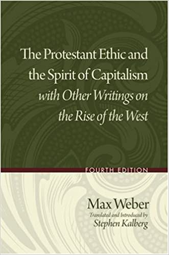 The protestant ethic and the spirit of capitalism with other the protestant ethic and the spirit of capitalism with other writings on the rise of the west max weber stephen kalberg 9780195332537 amazon books fandeluxe Images
