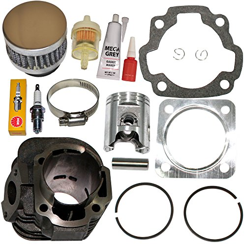 POLARIS SCRAMBLER 90 90CC CYLINDER PISTON KIT GASKETS PIN CLIPS 2001 - -