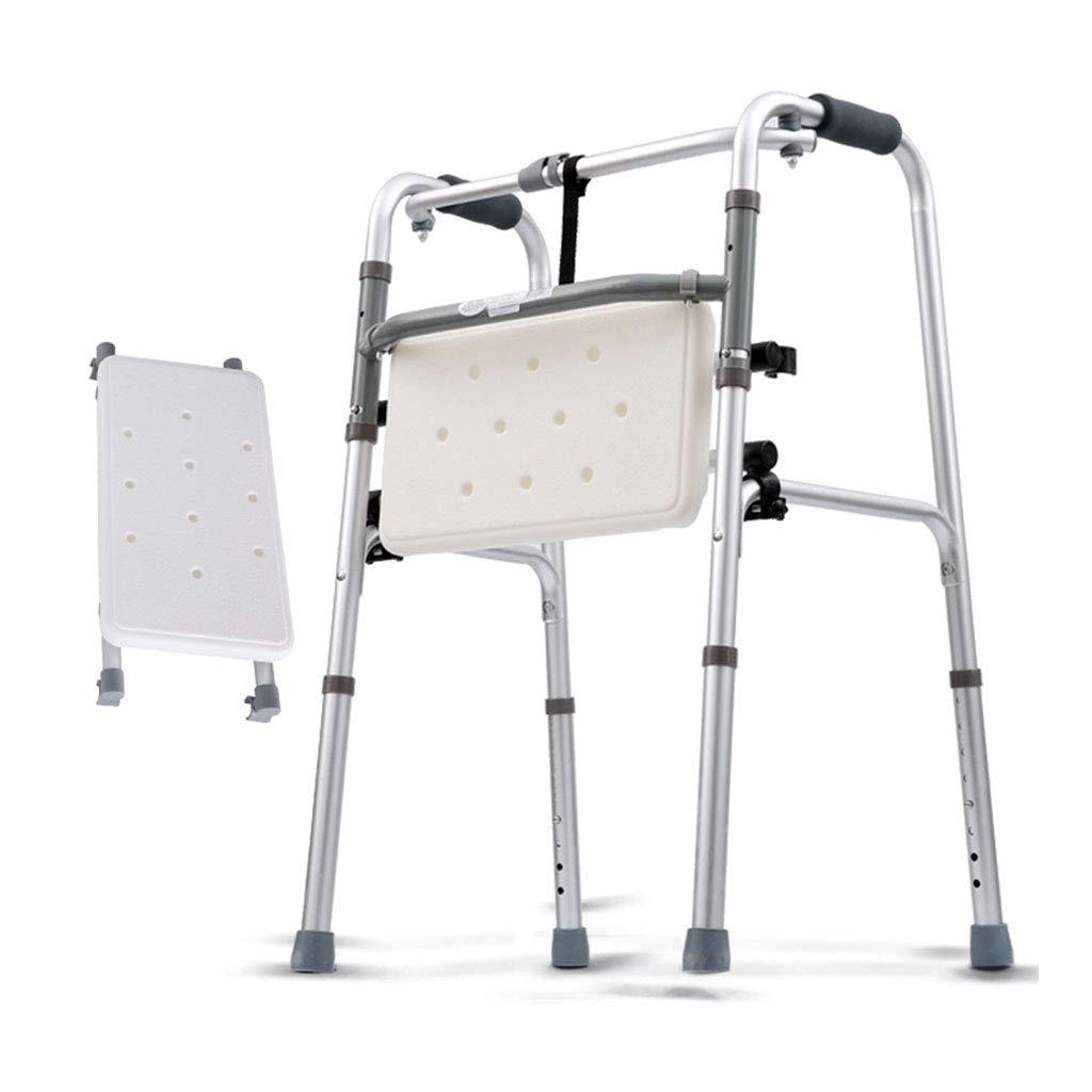 最新デザインの 高齢者のウォーカーフレーム厚いアルミニウムのアームレストフレーム座っているバスプレートと四脚の松葉杖   B07KT4W6SD, スポーツネットさっぽろ:74400975 --- a0267596.xsph.ru