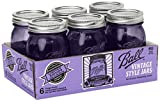 Best Glasses With Purples - Ball Jar Ball Heritage Collection Pint Jars Review