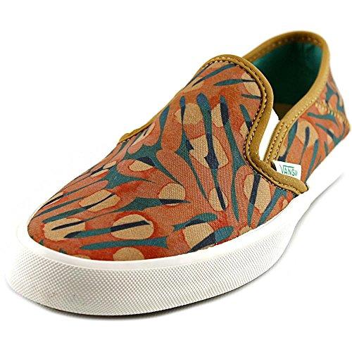 Tropical Sea Orange Comina Vans Textile Seaweed Slip Sneakers Shoes Womens On znpqgwx4f