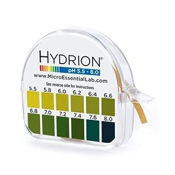 Amazon com : Micro Essential Laboratories Hydrion pH 15 Foot