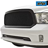 2015 ram grill - EAG 13-18 Dodge Ram 1500 Mesh Grille ABS Replacement Matte Black