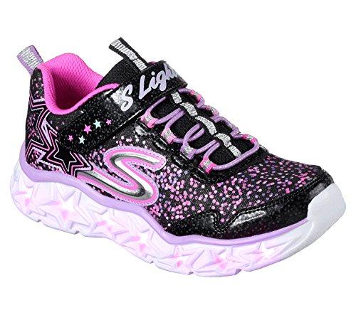 Niñas Para Skechers Negro Zapatillas 10920l multi qEEgSta6