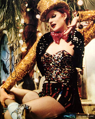 Nell Campbell Signed / Autographed 8x10 Glossy Photo as Columbia from The Rocky Horror Picture show. Includes FaneXpo HQ Certificate of Authenticity. Entertainment Autograph Original. Tim Curry, Frankfurter]()