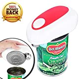 Electric Can Opener, PROEXME Automatic One Touch Can Opener with Smooth Edge, Best Kitchen Opener for Arthritis and Seniors