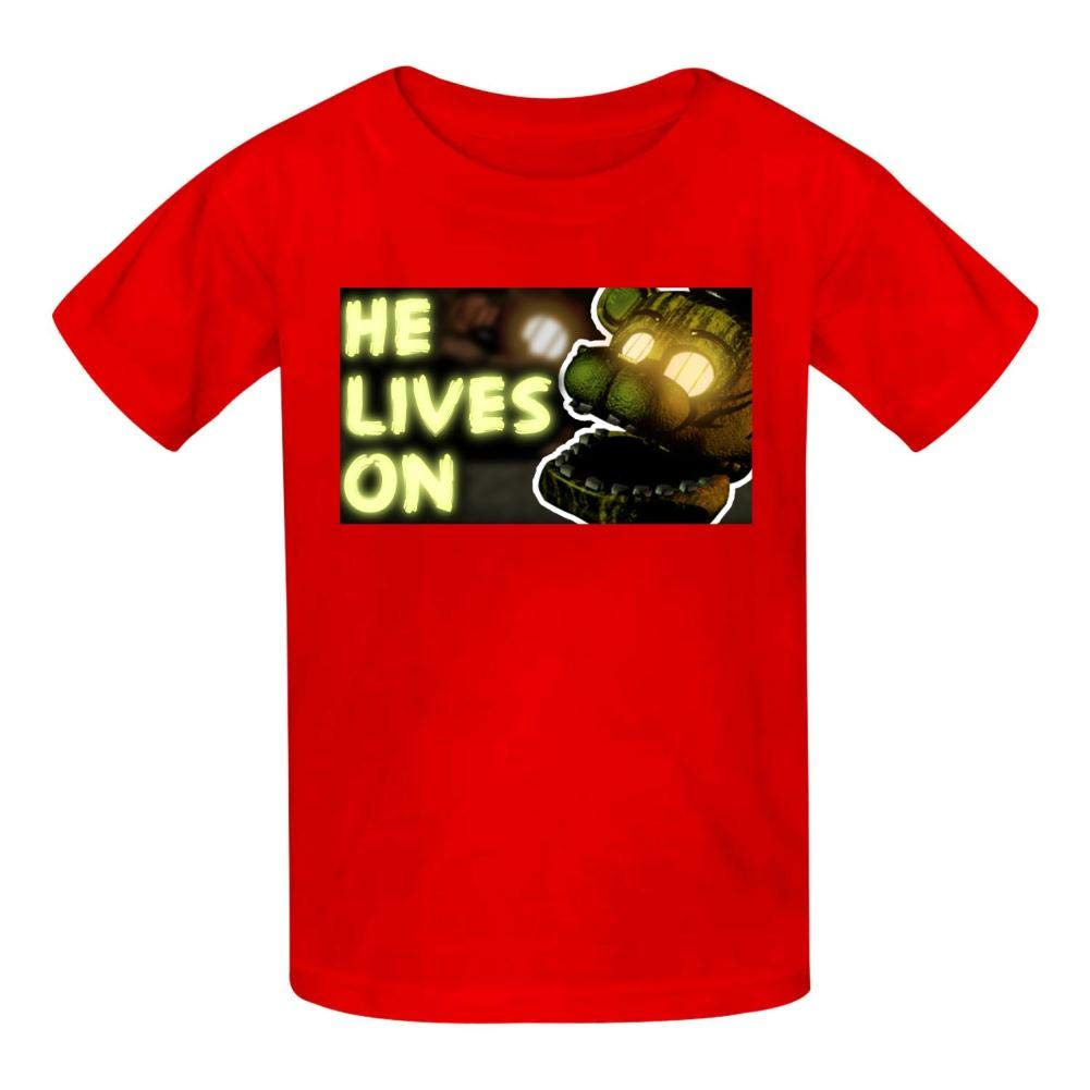 Five-Nights at Freddys 3 Cotton T-Shirt for Children