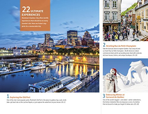 518oFwSsB8L - Fodor's Montreal and Quebec City (Full-color Travel Guide)