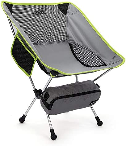 Sunyear Lightweight Compact Folding Camping Backpack Chair