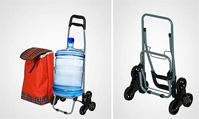 Amazon.com: HCC& Trolley Dolly Subir las escaleras Portátil Plegable Multifunción Carritos de compra: Home & Kitchen