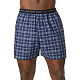 Hanes Mens Red Label Comfort Flex Yarn Dyed Boxers (841BX5)