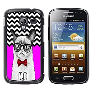 Dragon Case - FOR Samsung Galaxy Ace 2 - Let the more loving - Caja protectora de pl??stico duro de la cubierta Dise?¡Ào Slim Fit