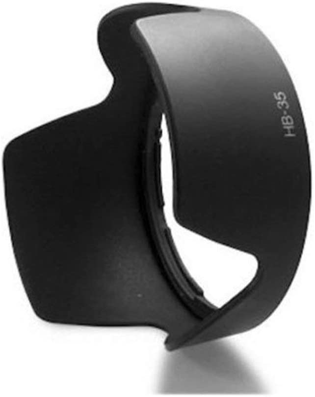 Liobaba Professional Lens Hood Replace HB-35 Petal Lens Hood
