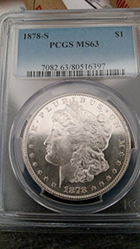1878 S Morgan Dollar $1 MS-63 PCGS