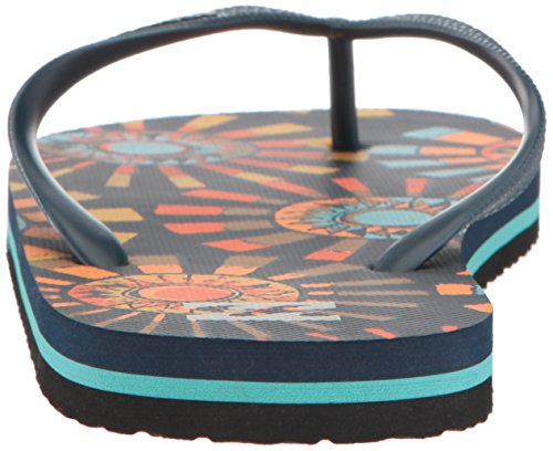 Billabong Menns Tidevann Sandal Flip-flop Navy / Orange