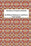 Antonius Ja Cleopatra (Finnish), William Shakespeare William Shakespeare and Paavo Emil Cajander, 1495429431