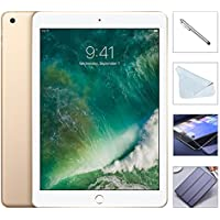 Apple iPad 9.7 Retina Display with $49.99 Bundle, 2017 5th Gen 32GB, M9, Wi-Fi, MIMO, Bluetooth, Apple iOS 10 (Gold)