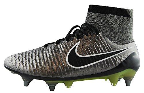 Nike Magista Obra Sg-pro-mens Fotbollsskor 641325 Fotbollsskor Metalliskt Tenn Svart Vit Svart 010