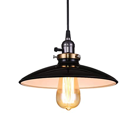 Lámpara Vintage Comedor Clásica Techo E27 para Lámpara RestauranteBar Iluminación Lámpara Retro Lámpara de de Metal Colgante Industrial Lightess k80OPXnw