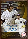 2016 Topps Gold Label Framed Autographs #GLFA-DG Didi Gregorius Certified Autograph Baseball Card