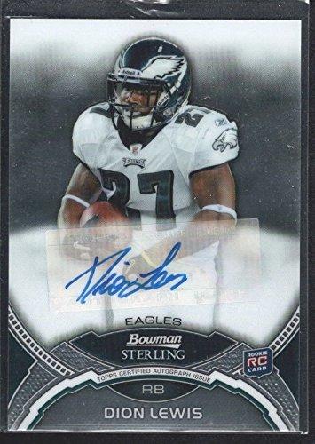 Dion Lewis 2011 Bowman Sterling Rc Rookie Autograph Philadelphia Eagles Sp