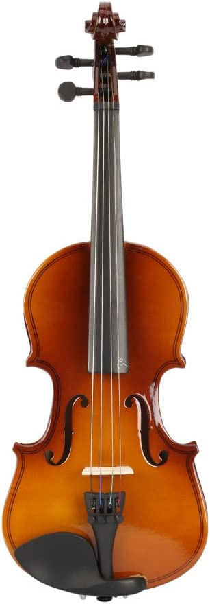 2019 New New 1//8 Size Violin Case Acoustic Violin Case Durable Natural Solid Wood Fiddle for Beginners and Students w//Case US Stock Bow and Rosin Natural Color