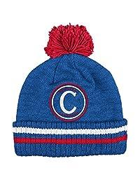 """Montreal Canadiens Mitchell & Ness NHL """"Big Man"""" Cuffed Premium Pom Knit Hat"""