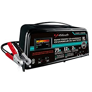 Schumacher SF-1275A 2/12/75A 12V Automatic Handheld Battery Charger