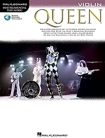 Queen (Violin) Violon +CD (Instrumental Play-along): Queen: Amazon ...