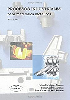 Procesos industriales para materiales metálicos (Ingenierías y Tecnologías) (Spanish Edition)