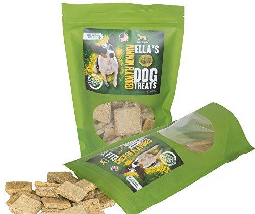 Ella's Diabetic Dog Treats (Combo Pack) 16 oz Pumpkin and Chicken