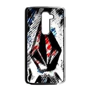 Classic Case Volcom pattern design For LG G2 Phone Case