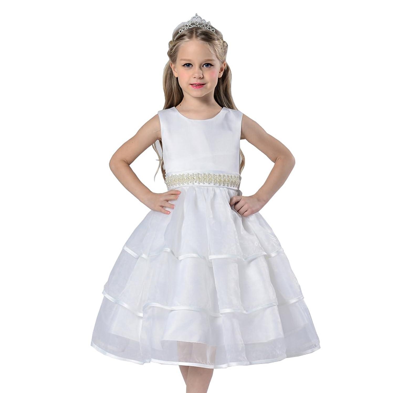 Das beste Ohne Arm Mädchen kleines Brautkleider Hochzeitskleider ...