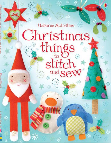 Download Christmas Things to Stitch and Sew (Usborne Activities) pdf epub