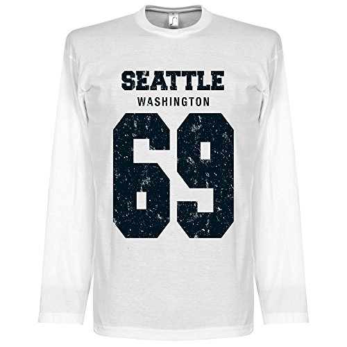 Seattle ?69 Long Sleeve T-shirt - weiß