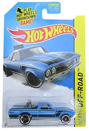 Hot Wheels 2015 HW Off-Road '68 El Camino 122/250, Blue
