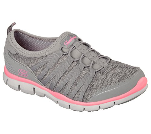 Skechers Gratis Shake It Off-Damen-Sneaker, grau