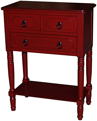 4D Concepts Colton TABLE, Red