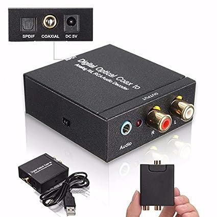 NK-Y2 Digital SPDIF Optical Coax to Analog RCA R/L DTS2.1