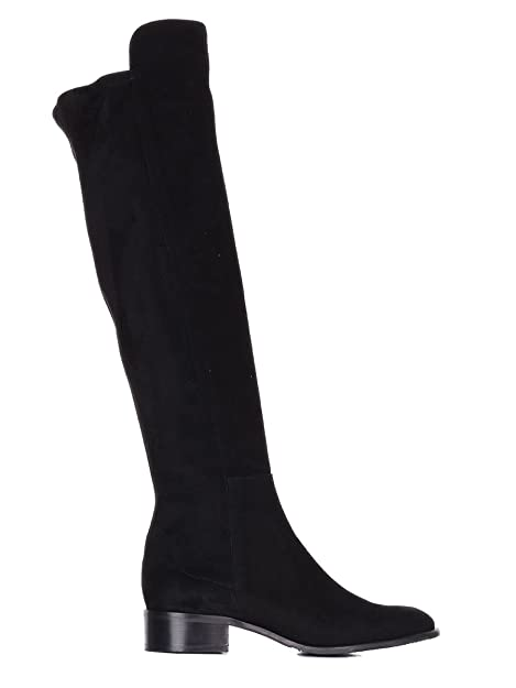 reputable site 3ef52 8f6c1 CERVONE Stivali Donna 103Nblack Camoscio Nero: Amazon.it ...
