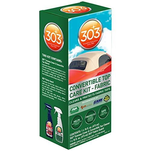 303 (30520) Convertible Fabric Top Cleaning and Care Kit (Jeep Top Cleaner Soft)