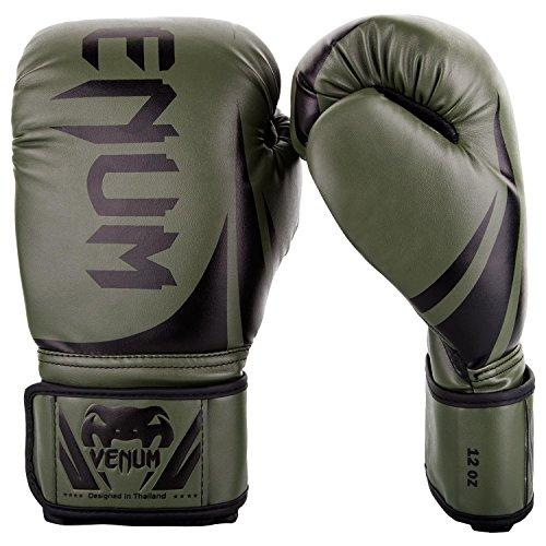 Venum Challenger 2.0 Boxing Gloves - Khaki/Black - 14-Ounce