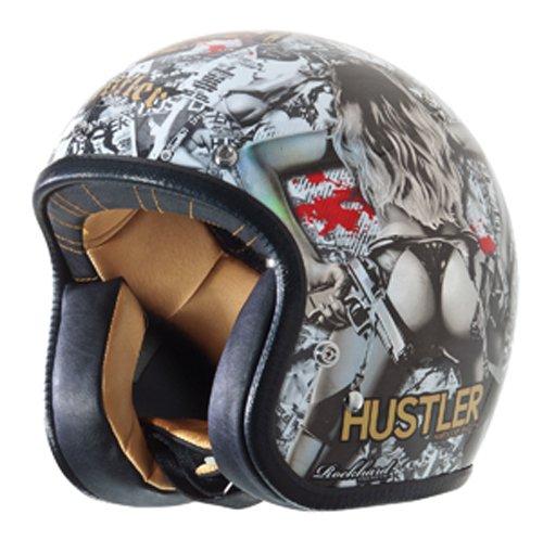 (Rockhard Hustler Volume 2 Graphic American Classic Helmet (Small))
