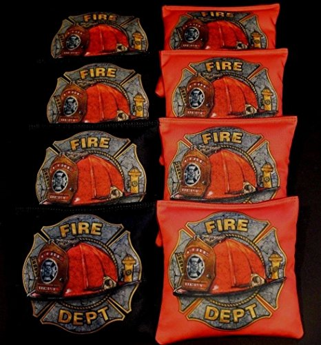FIREFIGHTER RESCUE HONOR OF COURAGE 8 ACA Regulation Cornhole Bean Bags B221