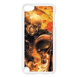 iPod Touch 5 Case White Ghost Rider Spirit of Vengeance Ifpfx